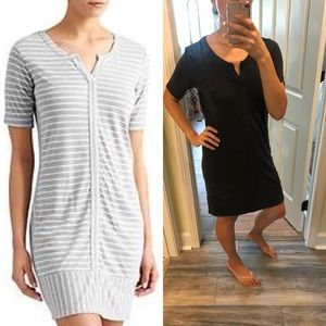 NEW Athleta Top Notch Dress - Charcoal Gray